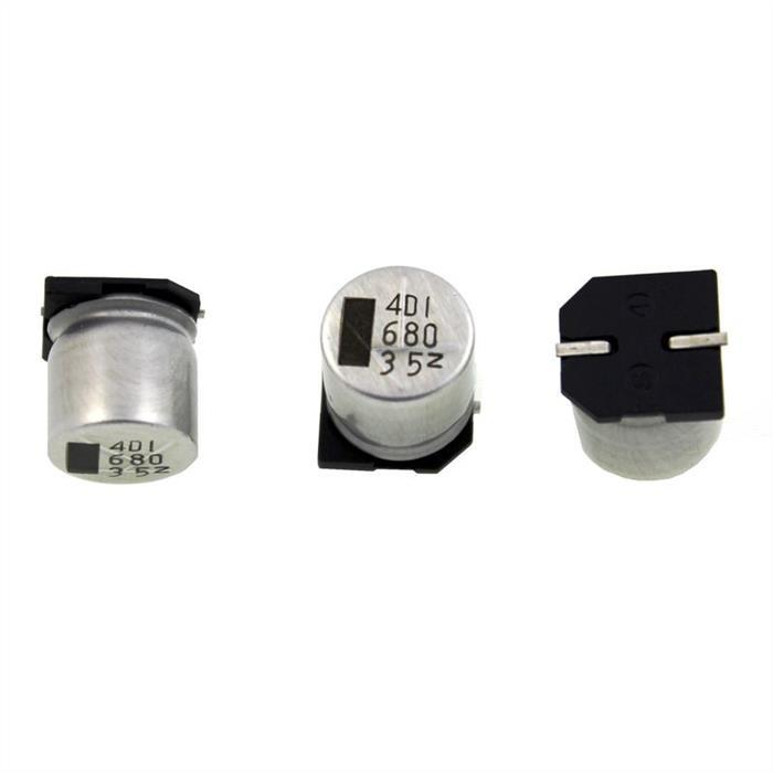 SMD Elko Kondensator 680µF 35V 105°C ; NACZ681M35V125X14 ; 680uF