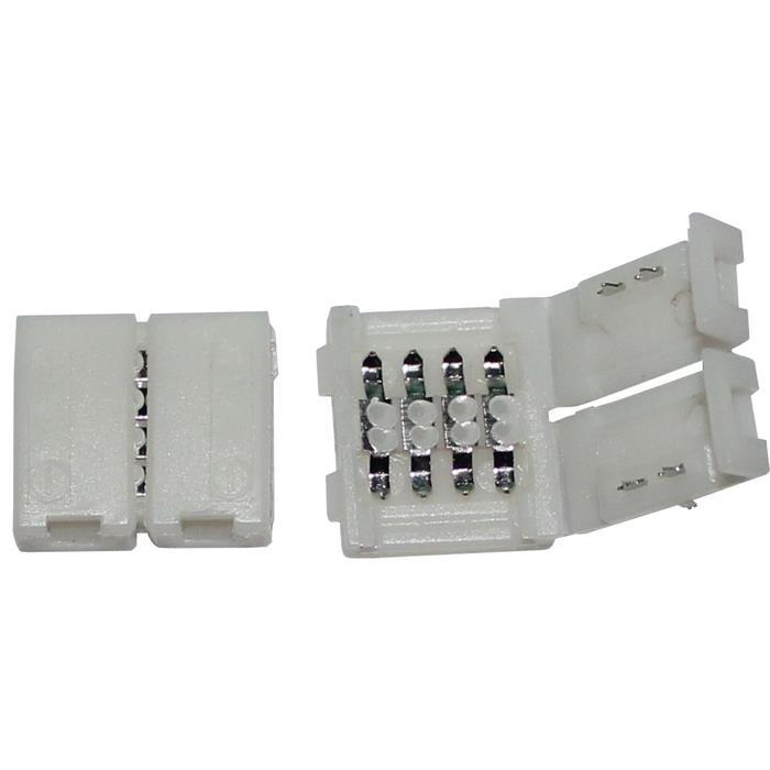 Verbinder / Connector für RGB LED-Streifen 10mm ; 1 Clip