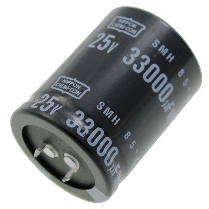 Snap-In Elko Kondensator 33000µF 25V 85°C ; ESMH250VSN333MA45T ; 33000uF