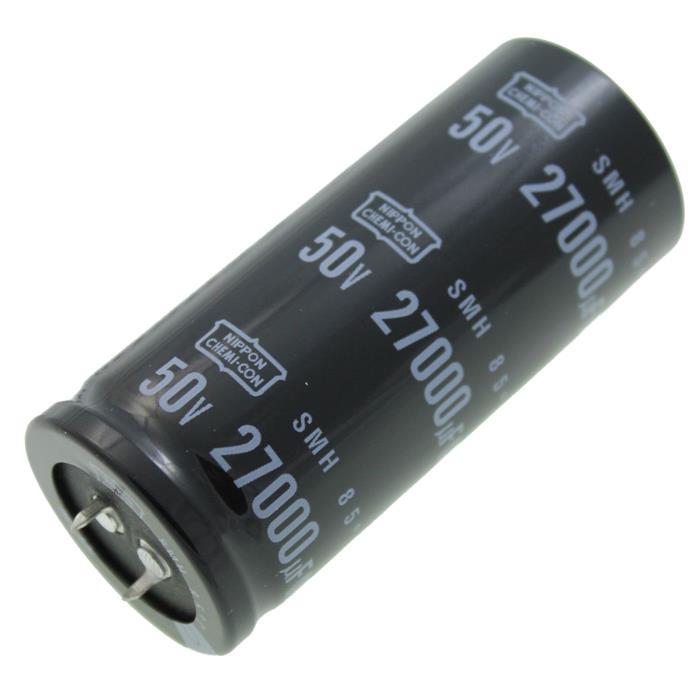 Snap-In Elko Kondensator 27000µF 50V 85°C ; ESMH500VSN273MA80T ; 27000uF