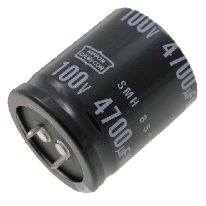 Snap-In Elko Kondensator Radial 4700µF 100V 85°C ESMH101VSN472MA40T d35x40mm 4700uF