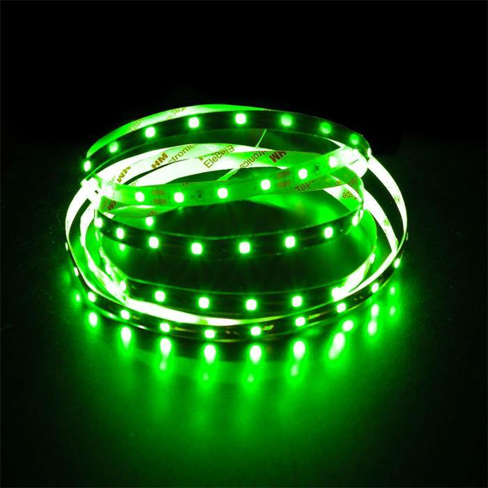 5m (500cm) LED Streifen Band Leiste 12V Grün IP20 300LEDs 60LED/m SMD3528
