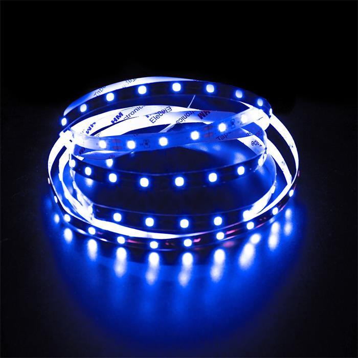 5m (500cm) LED Streifen Band Leiste 12V Blau IP20 300LEDs 60LED/m SMD3528