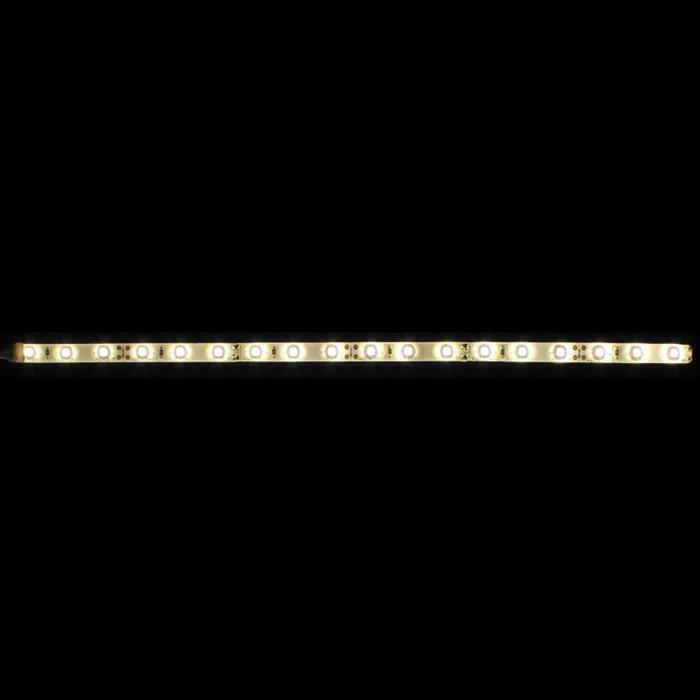 0,6m (60cm) LED Streifen Band Leiste 12V Warm-Weiß 3000K IP65 36LEDs 60LED/m SMD3528