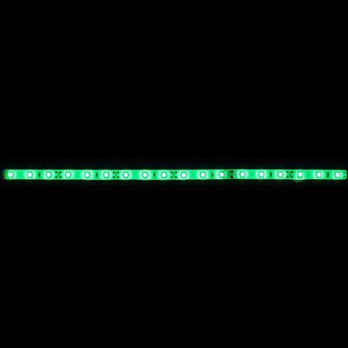 LED Streifen 30cm ; 5V Wasserfest IP65 18LEDs ; Grün