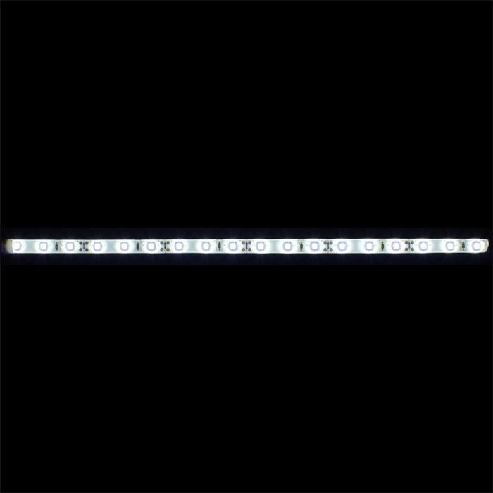 0,3m (30cm) LED Streifen Band Leiste 12V Kalt-Weiß 6000K IP65 18LEDs 60LED/m SMD3528