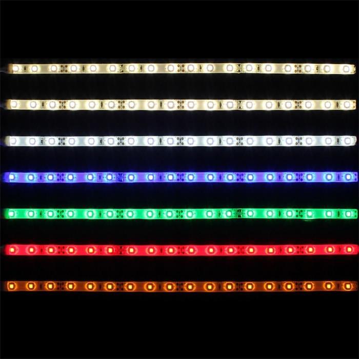 0,5m (50cm) LED Streifen Band Leiste 12V IP65 30LEDs 60LED/m SMD3528