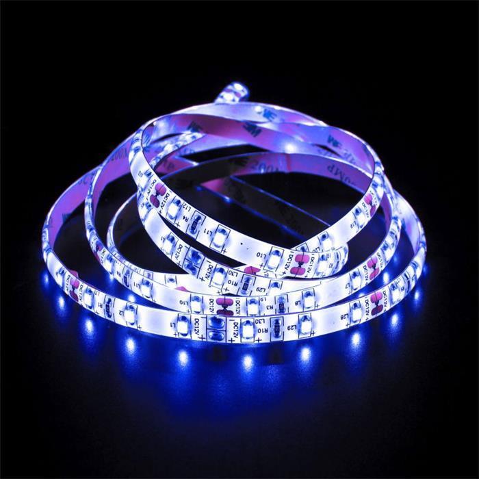 LED Streifen 500cm 5m ; 12V Wasserfest IP65 300LEDs ; Blau