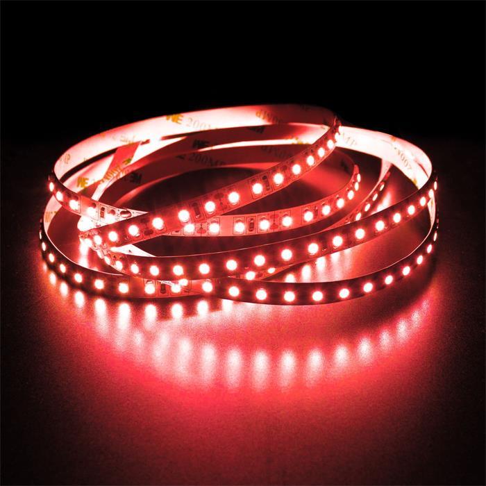 5m (500cm) LED Streifen Band Leiste 12V Rot IP20 600LEDs 120LED/m SMD3528