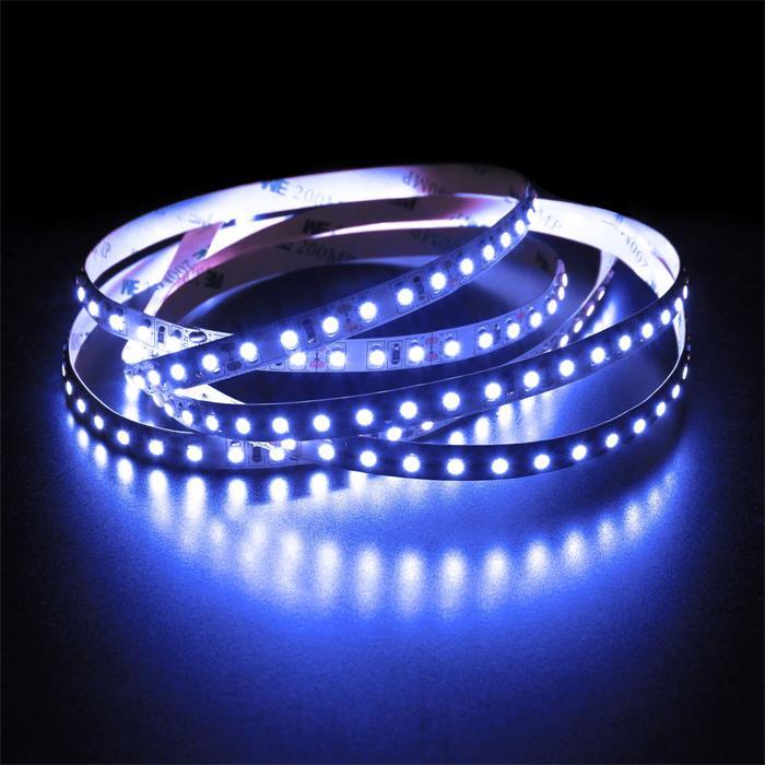 5m (500cm) LED Streifen Band Leiste 12V Blau IP20 600LEDs 120LED/m SMD3528