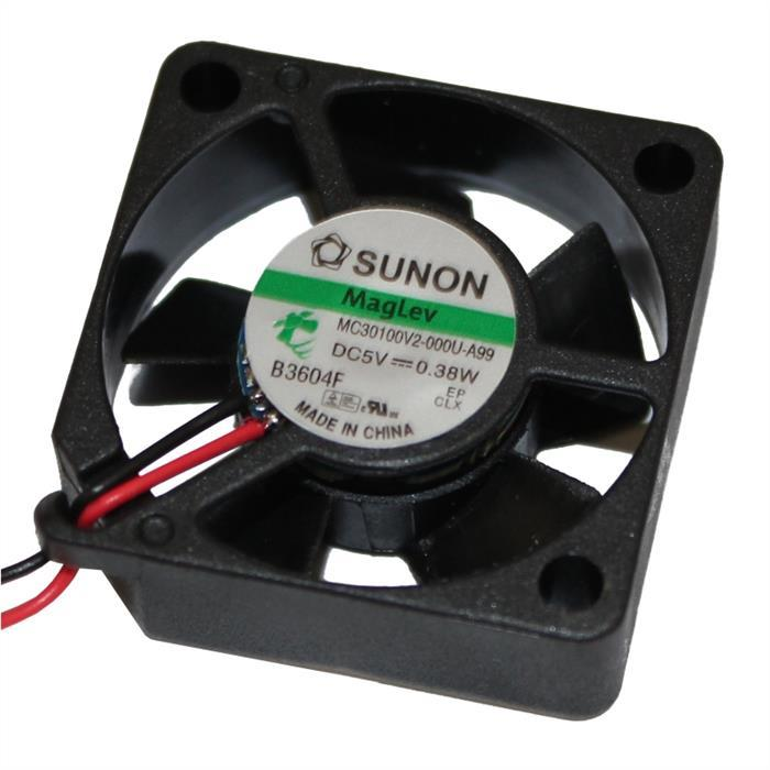 Lüfter 5V 0,38W 30x30x10mm 7,8m³/h 20dBA ; Sunon MC30100V2-A99
