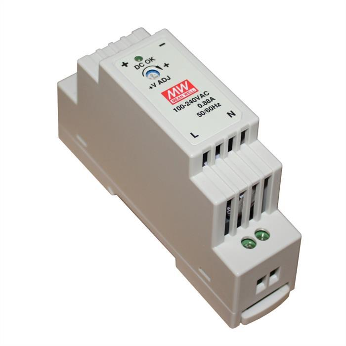 MeanWell DR-15-24 15W 24V 0,63A Hutschienen Netzteil DIN-RAIL