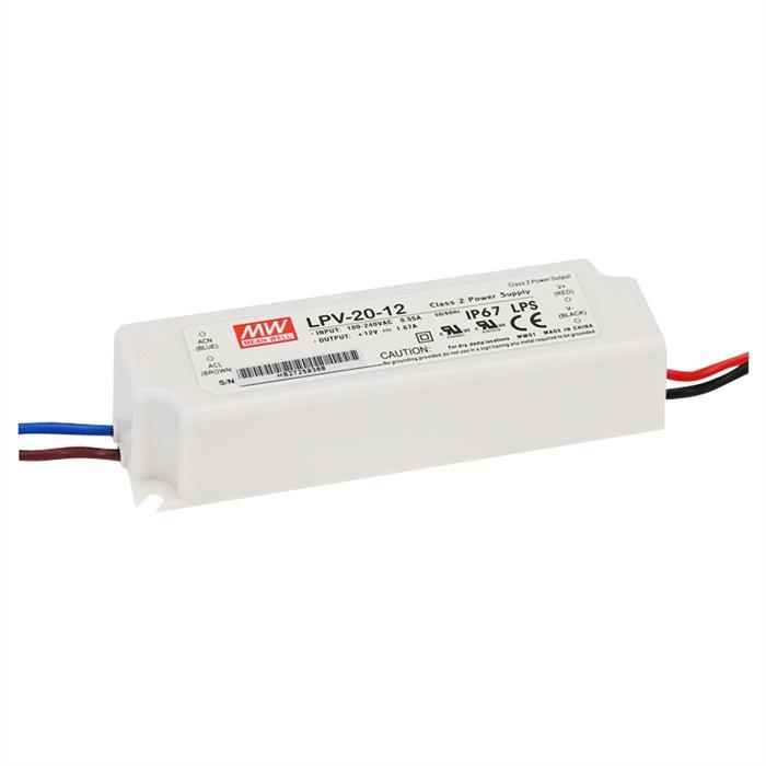 MeanWell LPV-20-5 15W 5V 3A LED Netzteil IP67