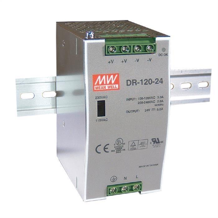MeanWell DR-120-48 120W 48V 2,5A Hutschienen Netzteil DIN-RAIL