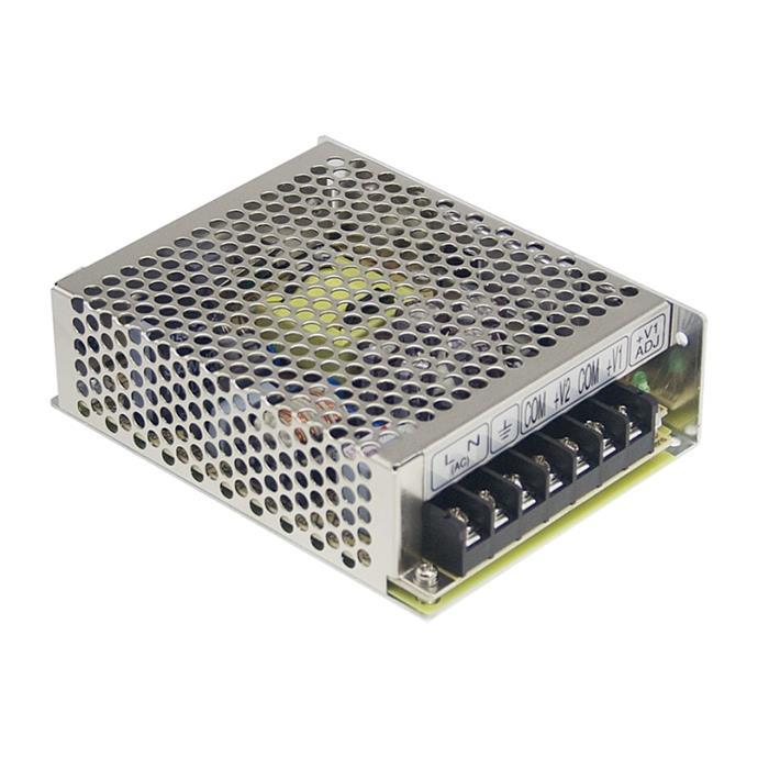 Schaltnetzteil / Netzteil 51W 15V 3,4A ; MeanWell, RS-50-15