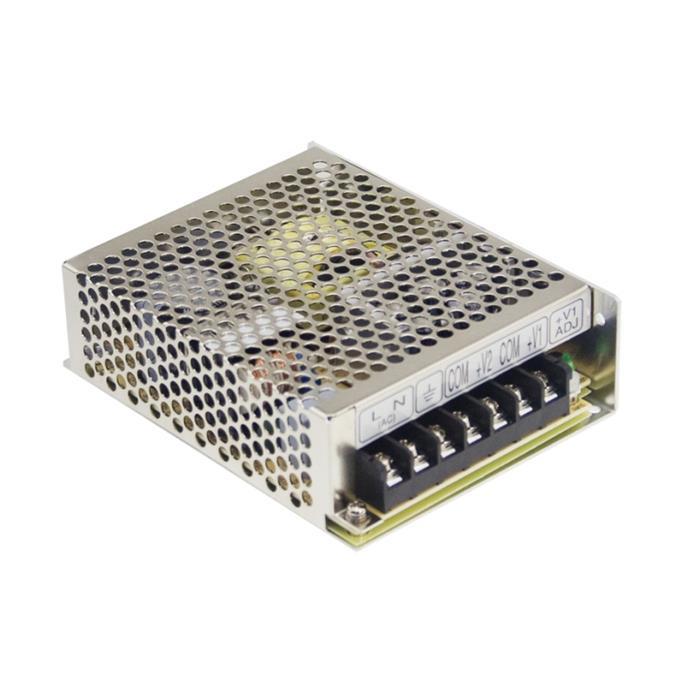 Schaltnetzteil / Netzteil 75W 15V 5A ; MeanWell, RS-75-15