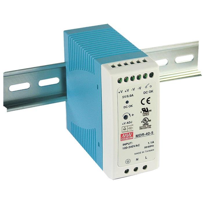 MDR-40-5 30W 5V 6A Hutschienen Netzteil