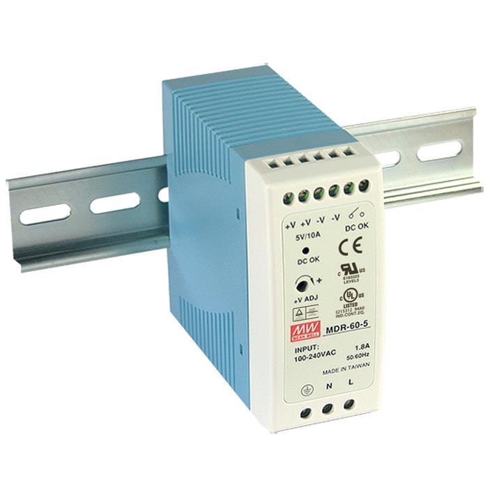 MDR-60-5 50W 5V 10A Hutschienen Netzteil