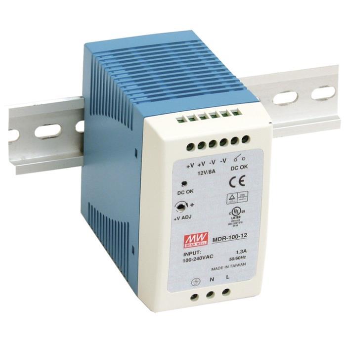 MDR-100-24 96W 24V 4A Hutschienen Netzteil