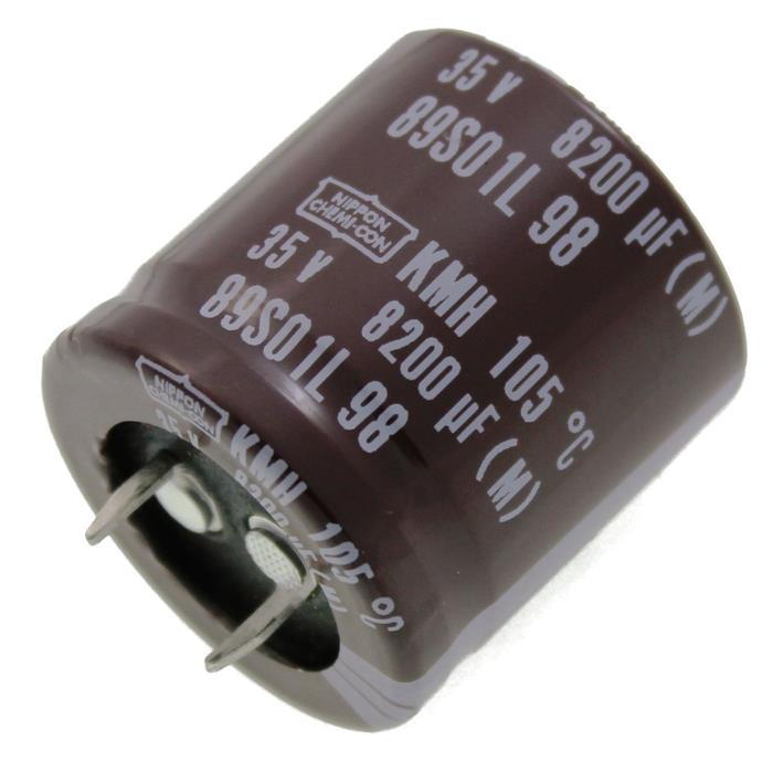 Snap-In Elko Kondensator 8200µF 35V 105°C EKMH350VNN822MR30S ; 8200uF