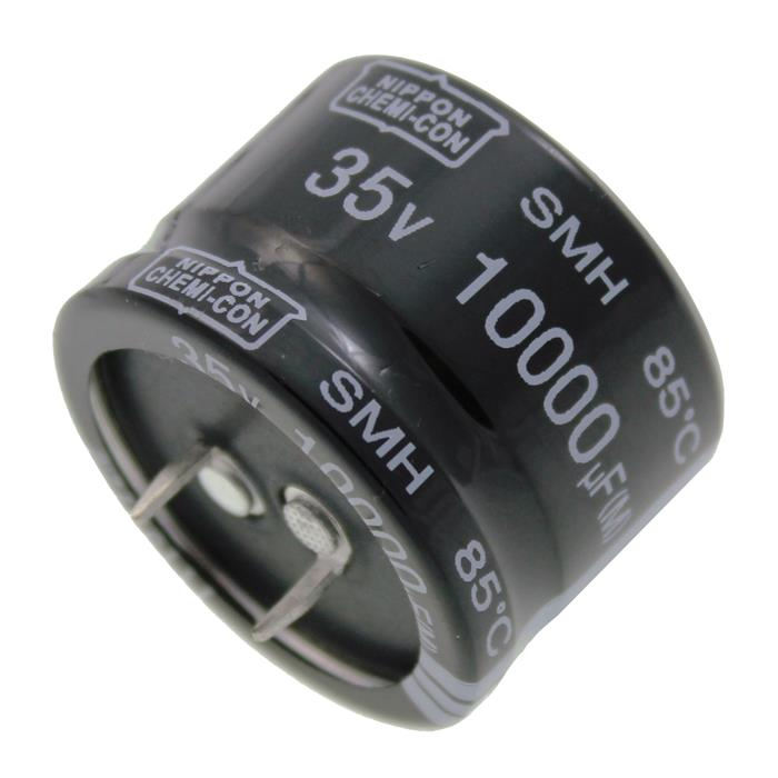 Snap-In Elko Kondensator 10000µF 35V 85°C ESMH350VNN103MA25W ; 10000uF