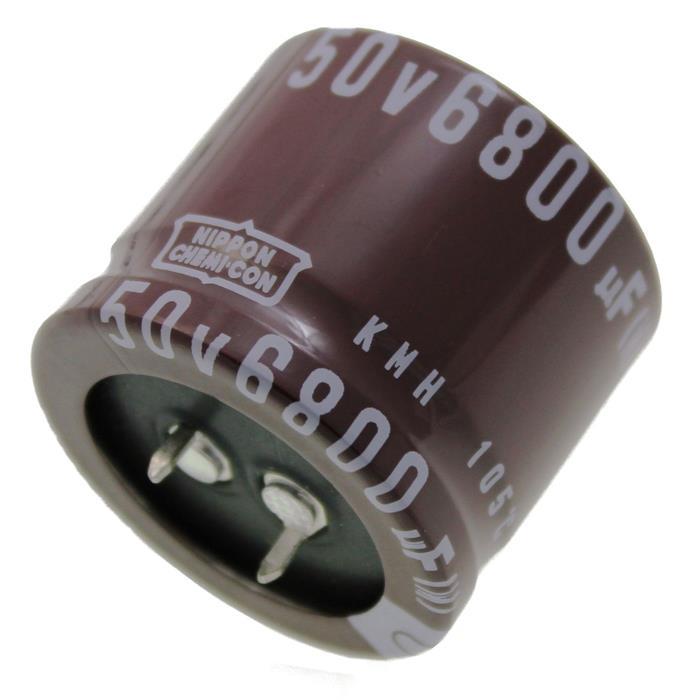 Snap-In Elko Kondensator 6800µF 50V 105°C EKMH500VSN682MA30S ; 6800uF