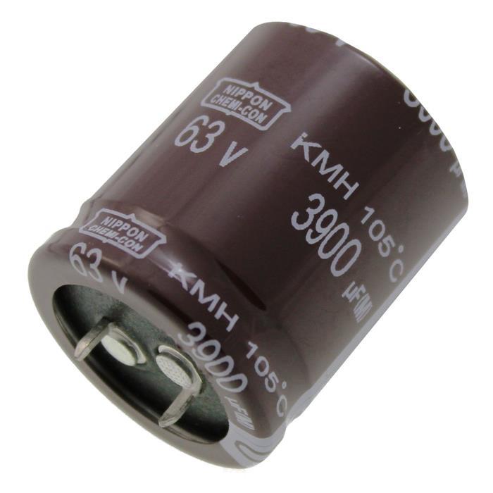 Snap-In Elko Kondensator 3900µF 63V 105°C EKMH630VSN392MR35S ; 3900uF