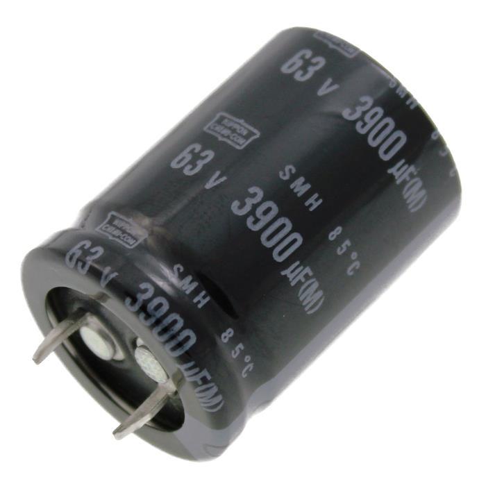Snap-In Elko Kondensator 3900µF 63V 85°C ESMH630VNN392MQ35S ; 3900uF