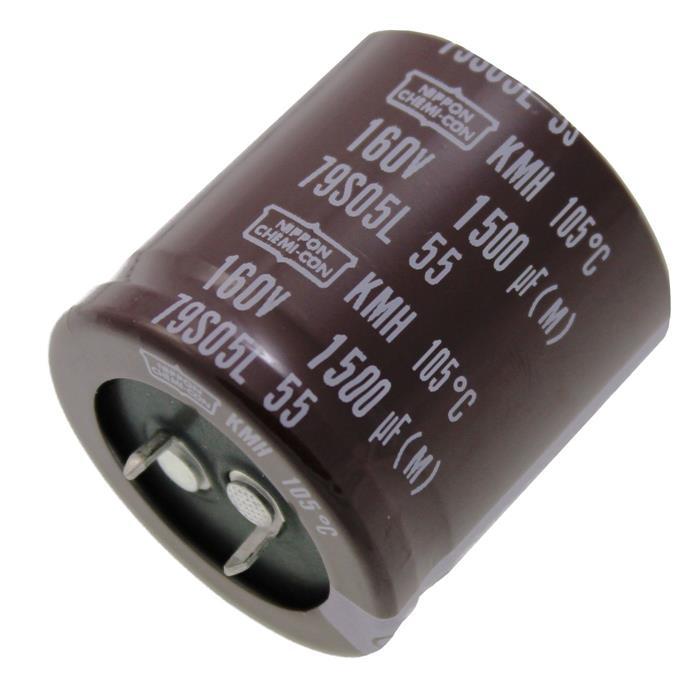 Snap-In Elko Kondensator 1500µF 160V 105°C EKMH161VSN152MA35S ; 1500uF