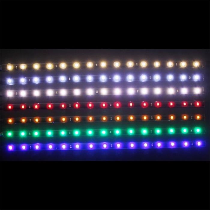 LED Streifen Band Leiste 30cm ; 24V Wasserfest IP65 15LEDs