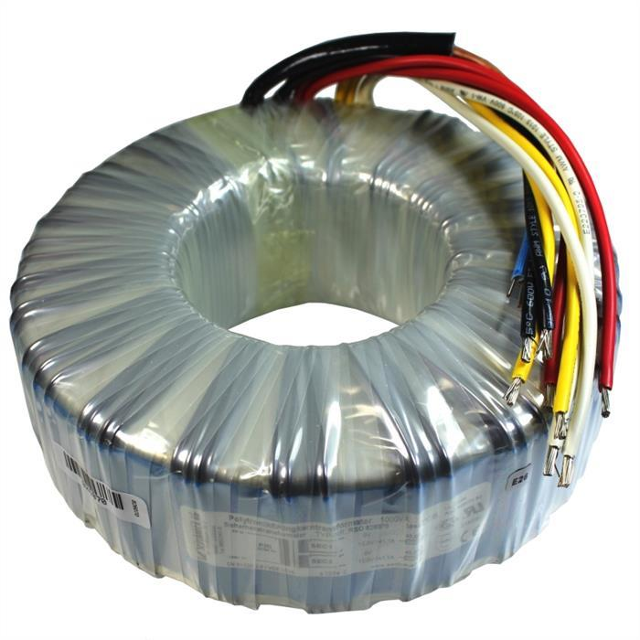 Ringkerntrafo Transformator 1000VA 230V 2x12V 24V Sedlbauer RSO-826070