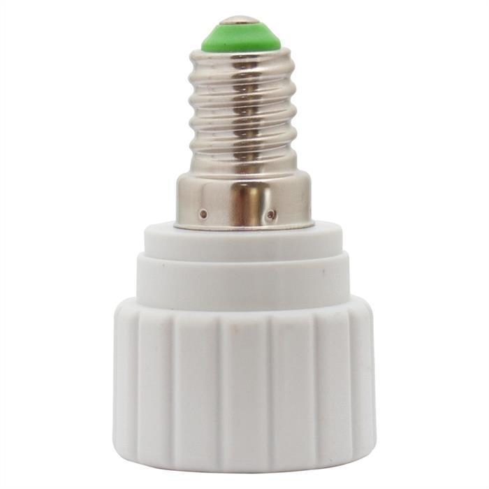LED Lampensockel Adapter E14 auf GU10 Fassung Konverter