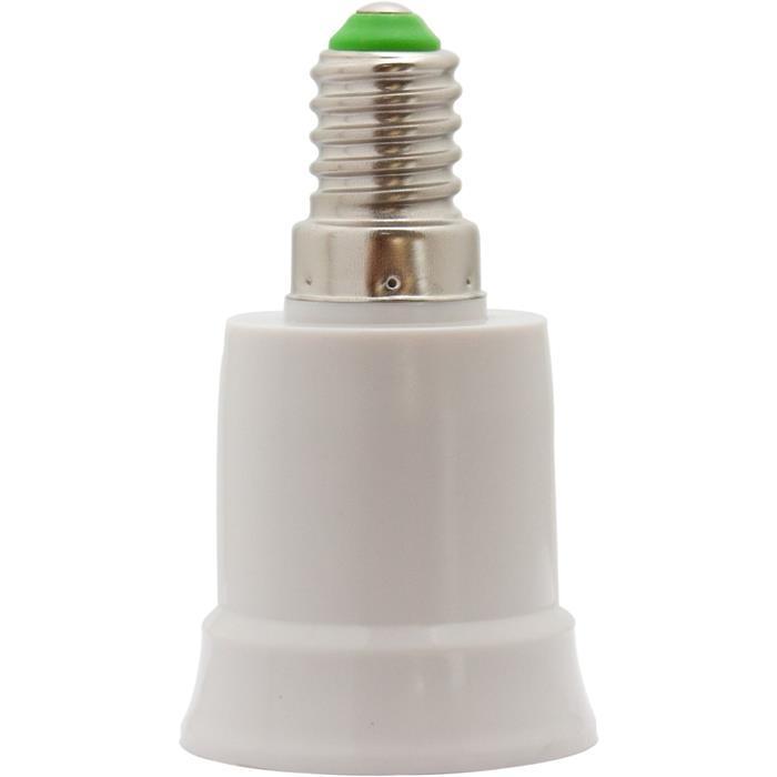 E14 -> E27 LED Lampensockel Adapter Fassung Konverter Lampe
