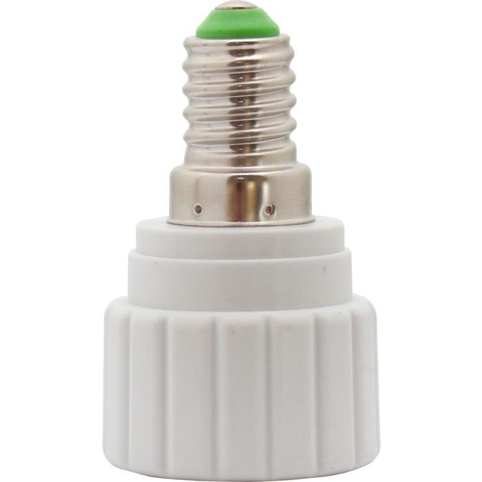 E14 -> GU10 LED Lampensockel Adapter Fassung Konverter Lampe