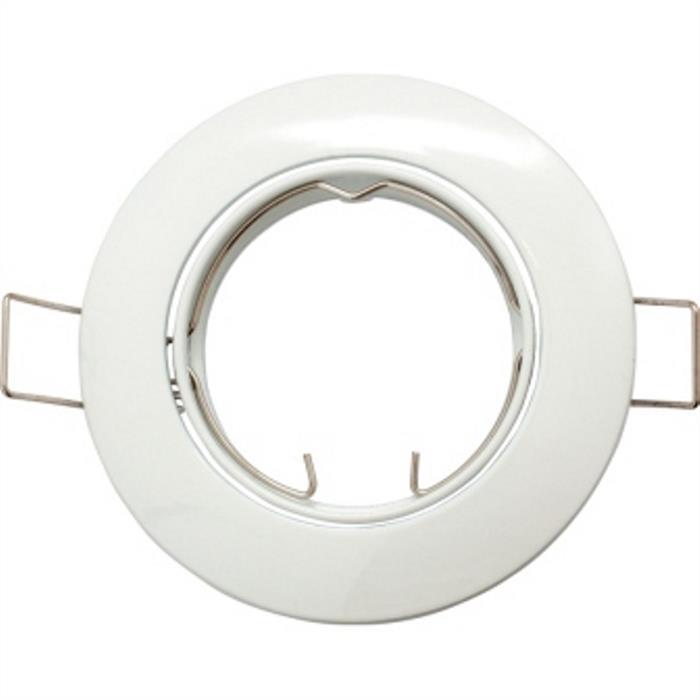 Einbaurahmen für LED Spotlights - Rund / Weiß
