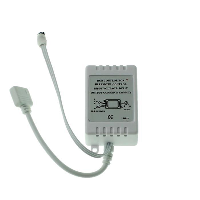 RGB LED 44Key Controller 12V 72W für Farbwechsel Streifen 4-Pin Plug + Play
