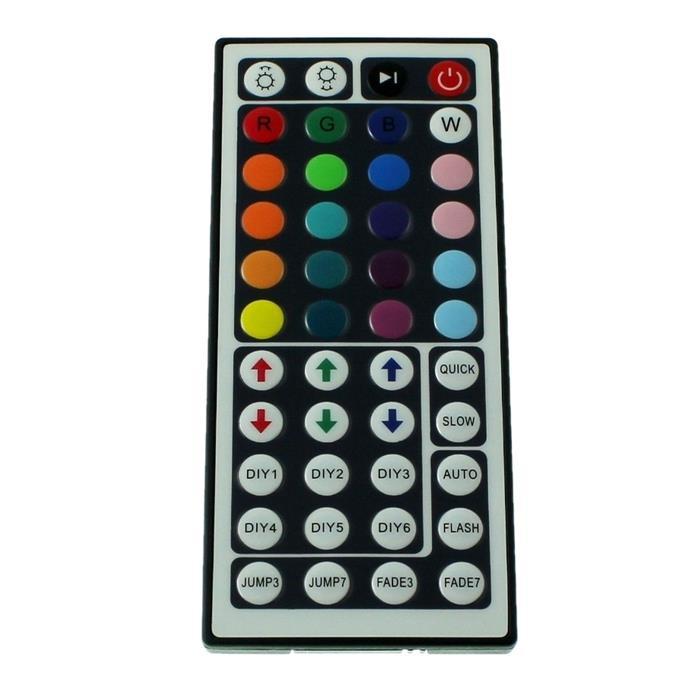 RGB LED IR Controller Remote Steuerung + 44Key Fernbedienung 12...24V 24A