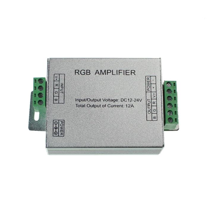 RGB LED Signal Verstärker Power Amplifier 144W 12V / 288W 24V - 12A