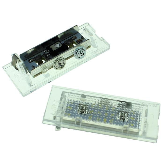 Kennzeichenbeleuchtung LED passend für BMW X3 E83, X5 E53