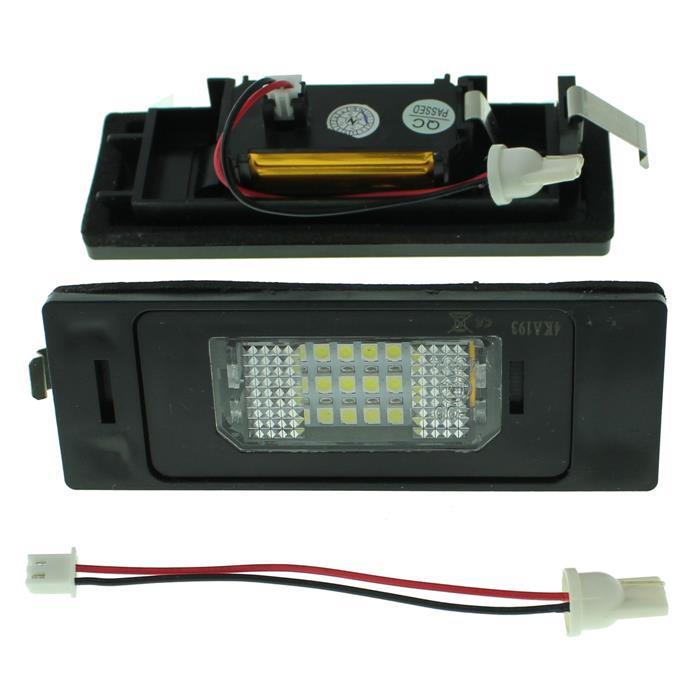 Kennzeichenbeleuchtung LED passend für BMW 1 E81, 6 E63, Z4 E85 Mini Clubman