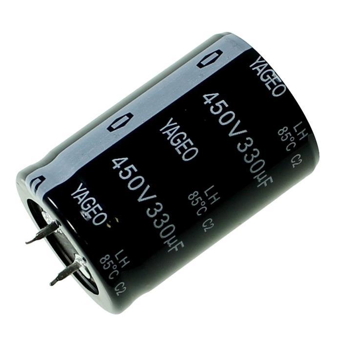 Snap-In Elko Kondensator 330µF 450V 85°C ; LH450M0330BPF-3045 ; 330uF