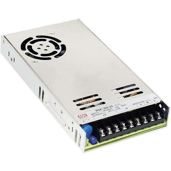 Schaltnetzteil / Netzteil 320W 15V 21,4A ; MeanWell, RSP-320-15