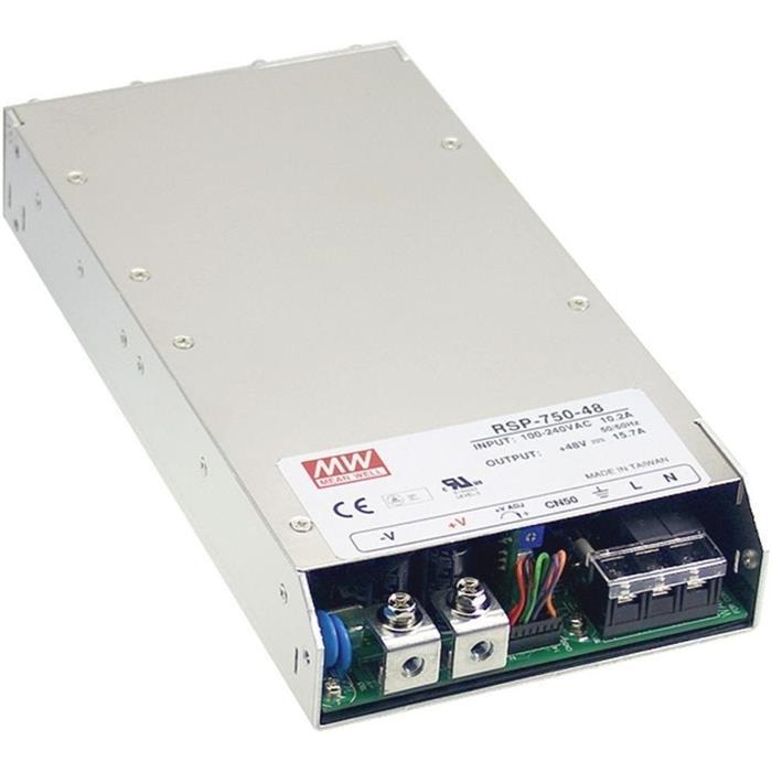 Schaltnetzteil / Netzteil 750W 15V 50A ; MeanWell, RSP-750-15