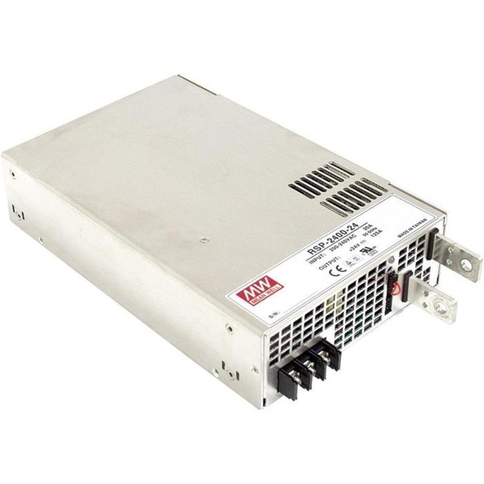 Schaltnetzteil / Netzteil 2400W 24V 100A ; MeanWell, RSP-2400-24