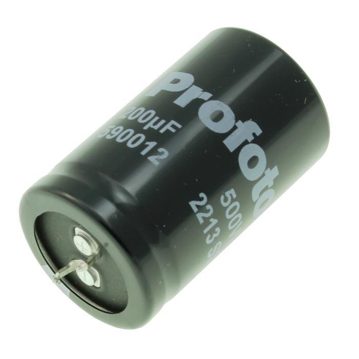 Snap-In Photo-Flash Kondensator 200µF 500V B43406S6207W2S1 ; 200uF