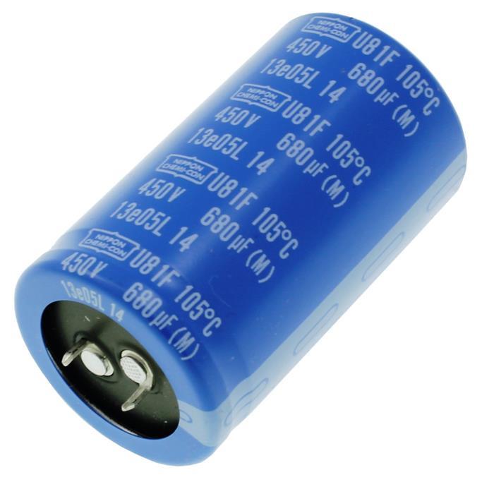 Snap-In Elko Kondensator 680µF 450V 105°C ; 680uF