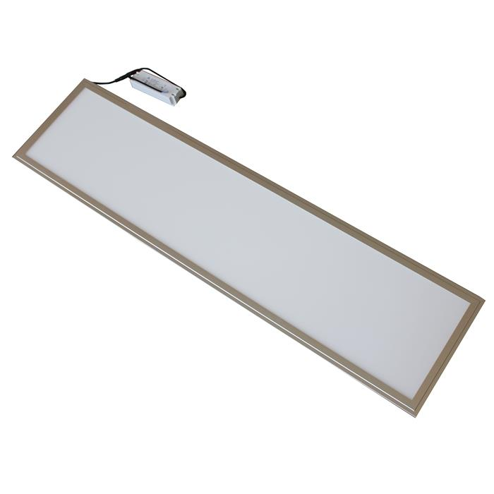 led panel ultraslim 120x30cm 40w 3250lm overhead light. Black Bedroom Furniture Sets. Home Design Ideas