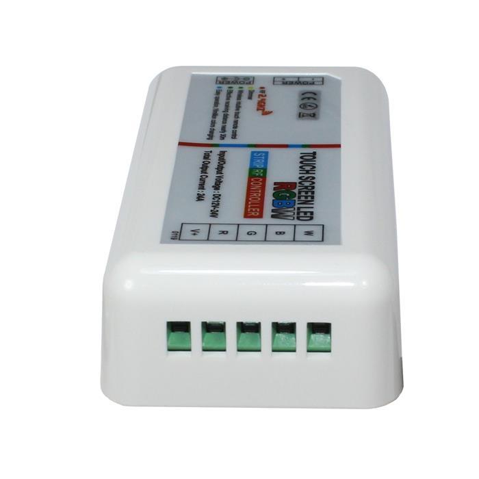 RGBW RGB+W RF Touch Controller Weiss + Touch Fernbedienung 12...24V 24A