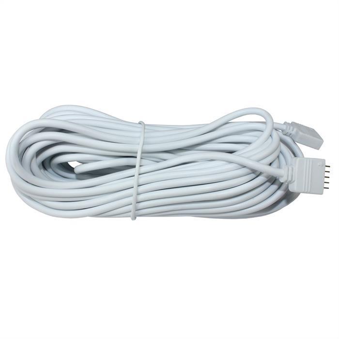 RGBW RGB+W Verlängerung ; Verlängerungskabel 5-adrig ; Länge: 10m