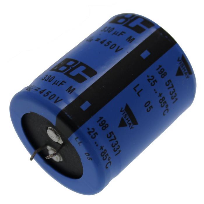 Snap-In Elko Kondensator 330µF 450V 85°C ; MAL219857331E3 ; 330uF